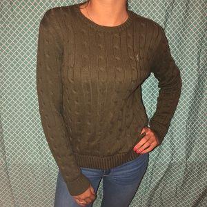 Polo Ralph Lauren Army Green Sweater